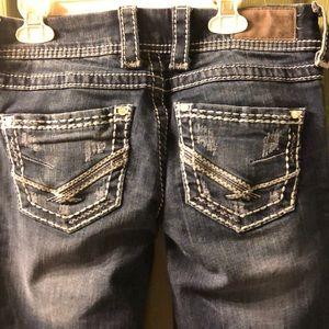 BKE Jeans waist size 26 in X length 28 in NWOT
